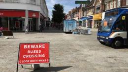 Town Centre Death Trap