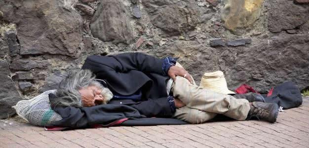 Homeless Man Bognor