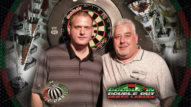 Gary Blackwood and Graham Clear