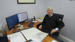 Gary Watts at GWA HQ