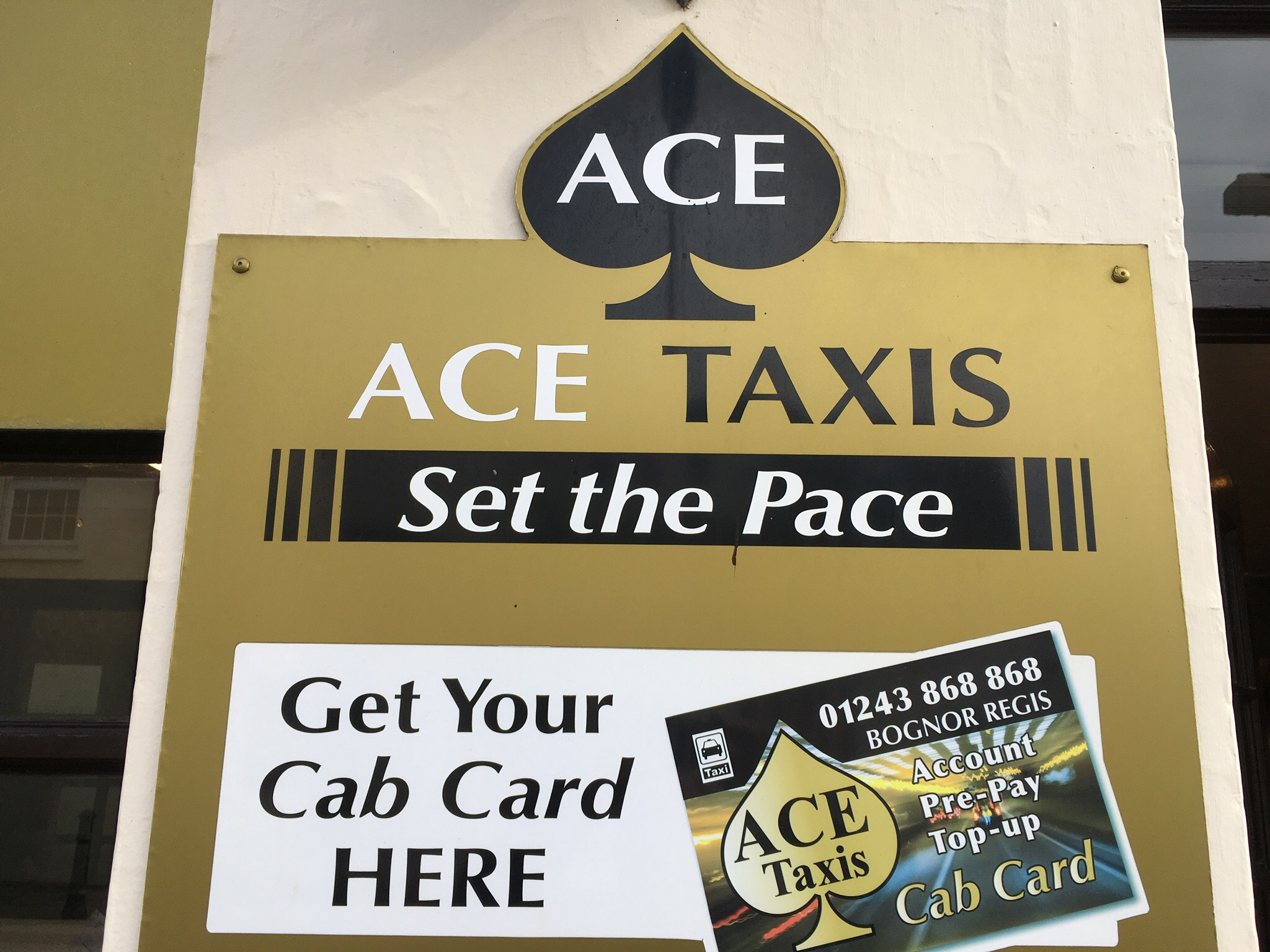 Ace Taxis Front