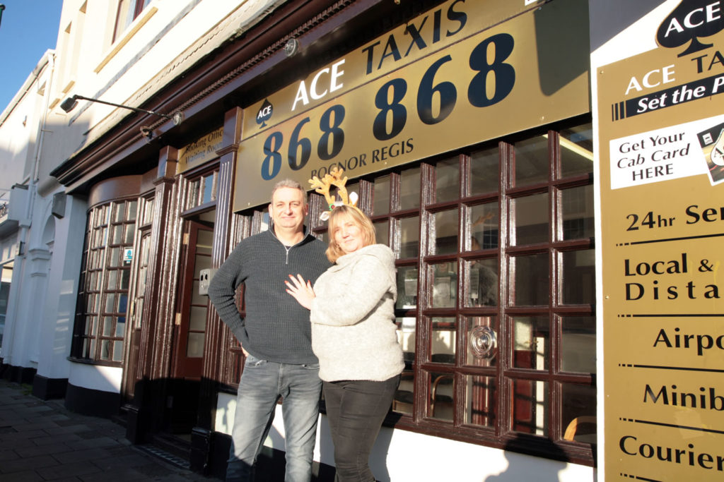 Colin Nicol Angela Moody Ace Taxis