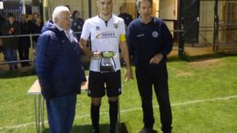 Pagham Skipper With Trophy