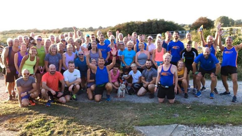 Bognor Regis Tone Zone runners